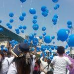 Desfilan en el Día Mundial en Contra del Trabajo Infantil, en Irapuato