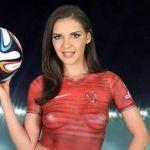 Actriz porno promete maratón sexual a futbolista por meter goles
