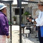 Visita presidenta del Dif municipal comunidades