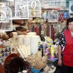 """""""Sobrevive"""" comerciante con bajas ventas, tiene más de 50 años laborando en Mercado Miguel Hidalgo"""