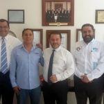 Consolidan acuerdos Alcalde de Cuerámaro y Secretario de Turismo