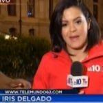 Golpean a reportera de Telemundo cuando transmitía en vivo (Video)