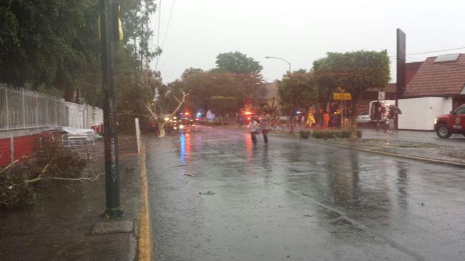 Photo of Afectaciones en la ciudad por la lluvia de ayer