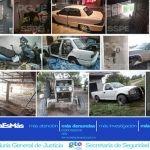 Aseguran autos robados y toma clandestina durante cateos