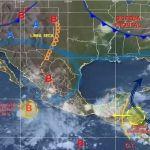 Se mantienen las lluvias acompañadas de tormentas eléctricas en gran parte del estado