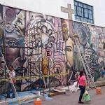 Acaban con mural en primaria de Pénjamo