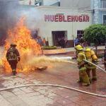 Realizan simulacro de accidentes en Cuerámaro
