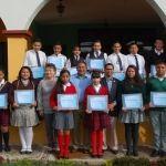 Alcalde reconoce alumnos penjamenses destacados del ciclo escolar 2015-2016