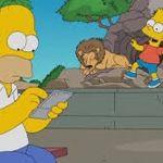 Pokémon GO contagia a Homero Simpson (Video)