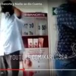 Ladrón asalta sucursal de Banorte con pistola en mano