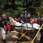 Se registra explosión en Central Park