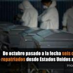 Repatrían seis cuerpos de migrantes penjamenses