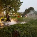 Fuga de gas en ducto de PEMEX provoca evacuación de 500 personas