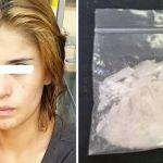 Detienen a mujer con droga en Irapuato