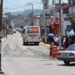 Se reubican sitios de trasnporte urbano y taxis
