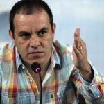 """""""No he recibido dinero"""", dice Cuauhtémoc Blanco; asegura que no renunciará"""