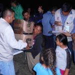Entrega alcalde despensas a familias afectadas por la contingencia