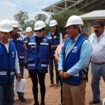 Alcalde realiza supervisión de obra en plantel CECYTE
