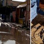 Irapuatenses damnificados, vehículos inundados y decenas de casas entre el agua
