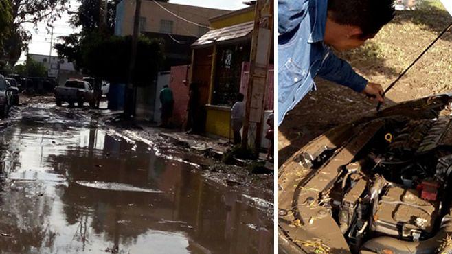 Photo of Irapuatenses damnificados, vehículos inundados y decenas de casas entre el agua