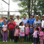 Habitantes de San José de Ramales dialogan con alcalde