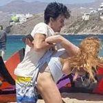 Novio de Lindsay Lohan la agrede (Video)