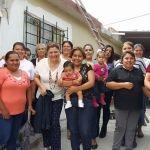 Vecinos de la comunidad de Panales conviven con alcaldesa