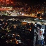 El contraste de Brasil, en una imagen que le dio la vuelta al mundo