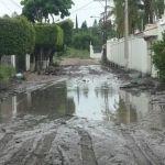 Lomas de Españita y Campestre de las Flores, continúan en riesgo por lluvias