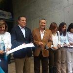 Inauguran gobernador y alcalde Centro de Gobierno