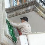 Inician festejos patrios con la colocación del Bando Solemne