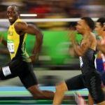 Usain Bolt sonreía al saber que tenía su tercera medalla dorada consecutiva