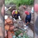 Reparan fuga del pozo de Tamazula