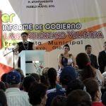 Presenta Larisa Solórzano primer Informe de Actividades de Pueblo Nuevo