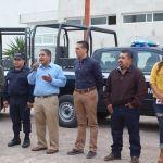 Alcalde realiza entrega oficial de tres unidades para la Seguridad Pública