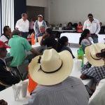 Se reúne alcalde con Delegados Rurales de Cuerámaro