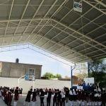 Alcalde inaugura obras en telesecundarias de Huanímaro