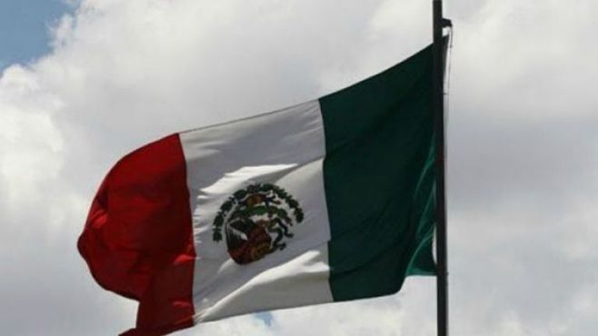 bandera mexicana al reves