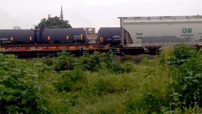 Photo of Cadáver localizado en tren en Irapuato fue decapitado en Jalisco