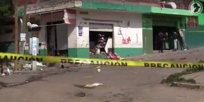 Photo of Lanzan explosivos a tortillería y tienda en Abasolo; frente a Centro Impulso