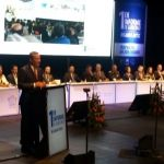 Ricardo Ortiz rinde obras y acciones en su primer informe Gobierno