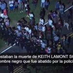 Doce policías heridos en protestas tras la muerte de un afroamericano