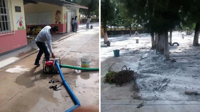 Photo of Continúan acciones en contingencia por lluvias