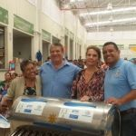 Entrega municipio de Huanímaro calentadores solares