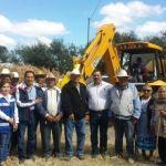 Arranca construcción de plaza cívica en La Soledad, Cuerámaro