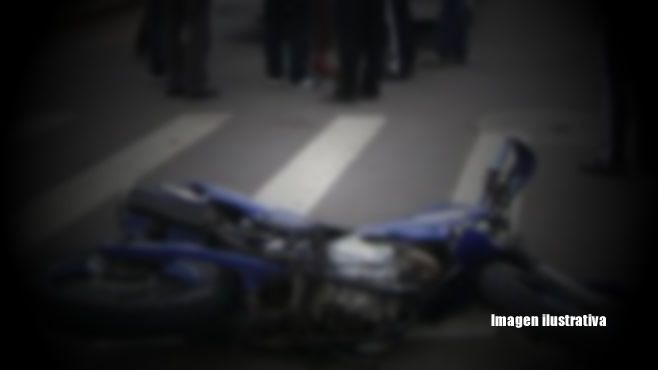 Photo of Cae motociclista frente al CBTis