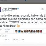 Jorge D'Alessio responde al supuesto plagio en el himno del América