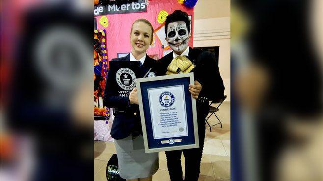Photo of Rompe Guanajuato récord Guinness con desfile de catrinas