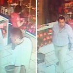 Graban a delincuentes en tienda de celulares en Huanímaro