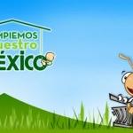 """Todo listo para """"Limpiar Nuestro México"""""""